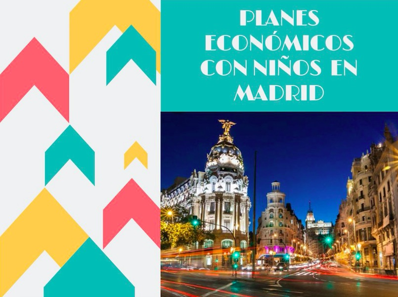 Madrid with kids- the best free activities for families in the city.